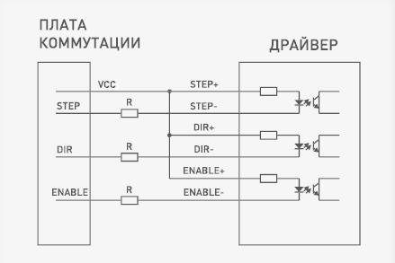 Dir step enable схема